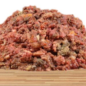 Rinder-Kürbis-Menü