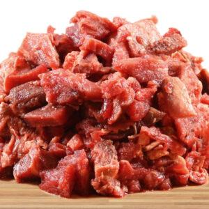 Rindfleischwürfel